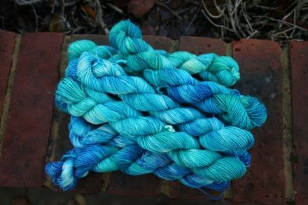 Limited Edition Sparkle Merino/Nylon Mini Skein Shoals